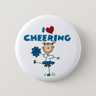 I Love (Heart) Cheering Button
