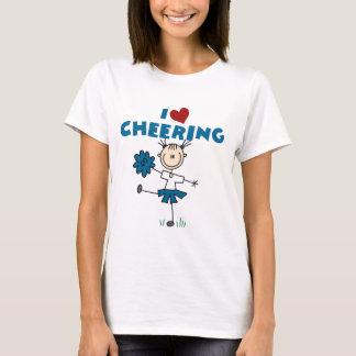 I Love (Heart) Cheering T-Shirt