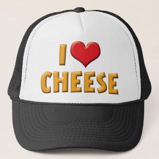 I Love Heart Cheese - Dairy Lover Trucker Hat