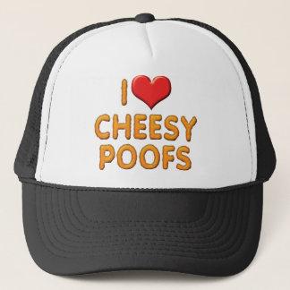 I Love Heart Cheesy Poofs Trucker Hat