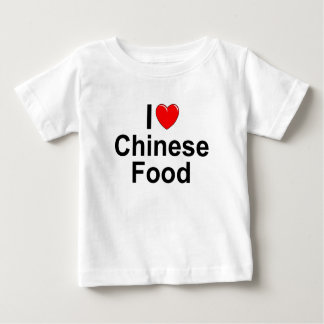 I Love (Heart) Chinese Food Infant T-shirt