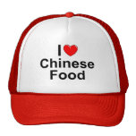 I Love (Heart) Chinese Food Trucker Hat