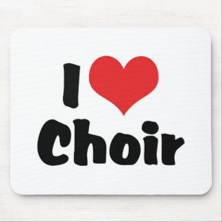 I Love Heart Choir Mouse Pad