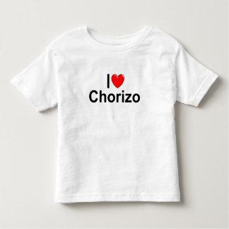 I Love (Heart) Chorizo Toddler T-shirt