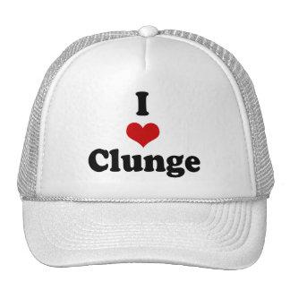I LOVE {HEART} CLUNGE CAP