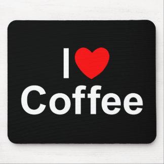 I Love (Heart) Coffee Mousepads