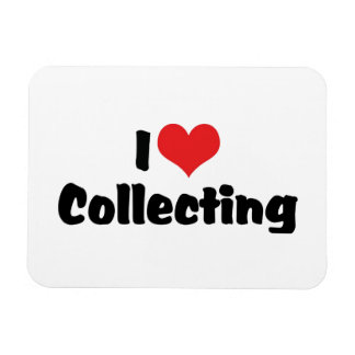 I Love Heart Collecting - Antique Junk Collector Magnet
