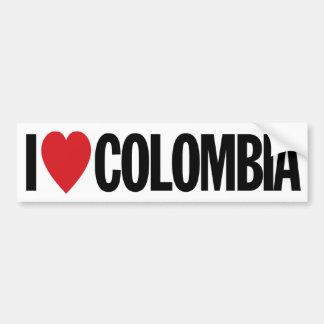 "I Love Heart Colombia 11"" 28cm Vinyl Decal Bumper Sticker"