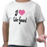 I Love (Heart) Color Guard Shirt