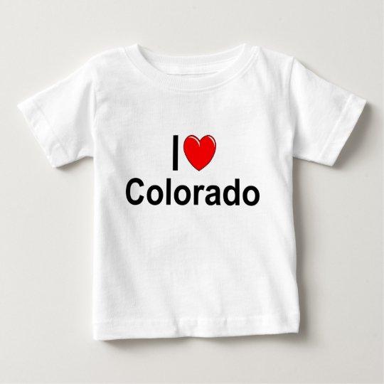 I Love (Heart) Colorado Baby T-Shirt