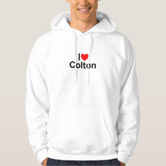 I Love (Heart) Colton Hooded Pullover