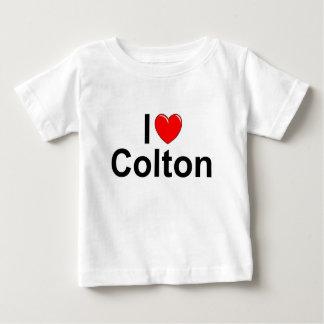 I Love (Heart) Colton Infant T-shirt