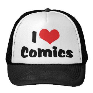 I Love Heart Comics - Comic Book Lover Trucker Hat
