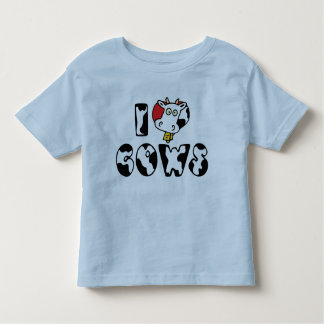 I Love Heart Cows Toddler T-shirt
