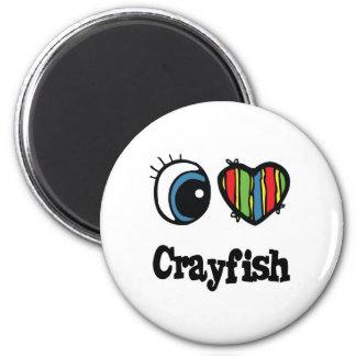I Love (Heart) Crayfish Magnet