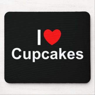 I Love (Heart) Cupcakes Mouse Pad