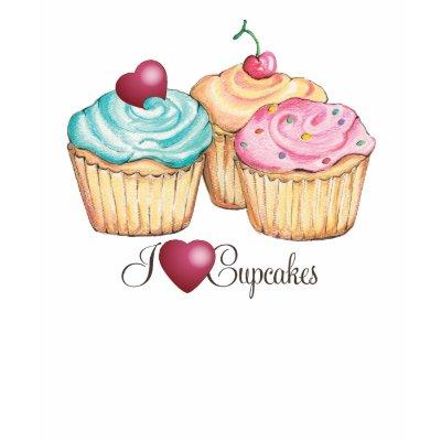 I Love (heart) Cupcakes