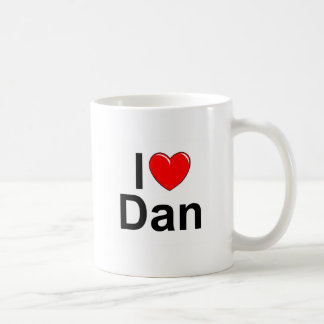I Love (Heart) Dan Coffee Mug