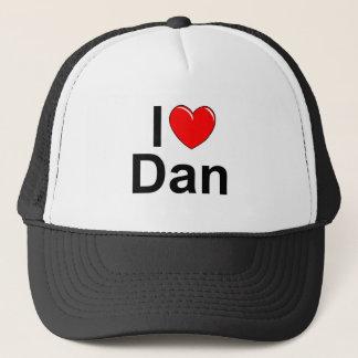 I Love (Heart) Dan Trucker Hat