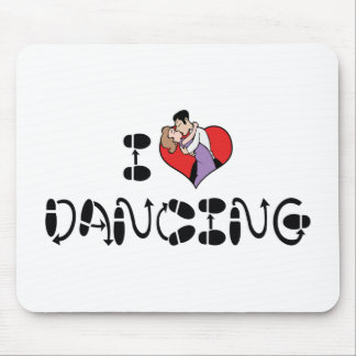 I Love Heart Dancing - Dance Lover Mouse Pad