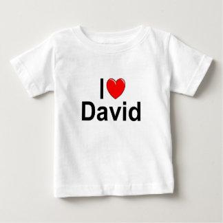 I Love (Heart) David Baby T-Shirt