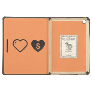 I Love Heart Donations iPad Air Cases