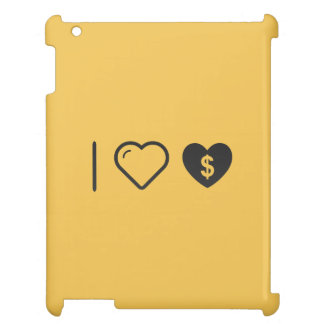 I Love Heart Donations iPad Covers