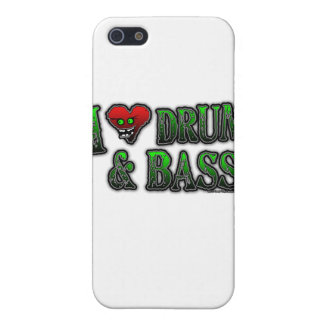 I Love heart DRUM and BASS iPhone SE/5/5s Case