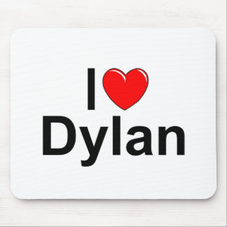 I Love (Heart) Dylan Mouse Pad