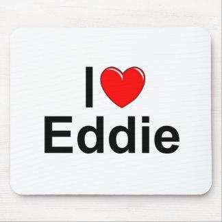 I Love (Heart) Eddie Mouse Pad
