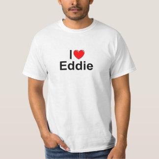 I Love (Heart) Eddie Tee Shirt