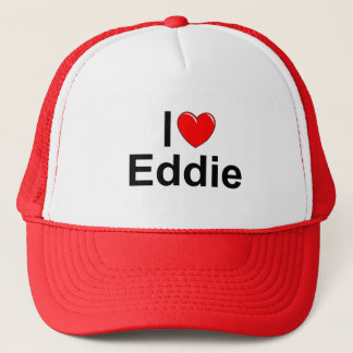 I Love (Heart) Eddie Trucker Hat