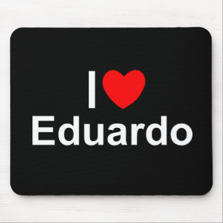 I Love (Heart) Eduardo Mouse Pad