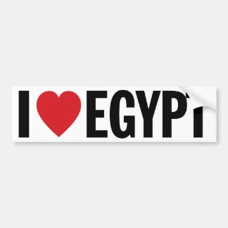 "I Love Heart Egypt 11"" 28cm Vinyl Decal Bumper Sticker"