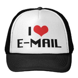 I Love Heart Email Trucker Hat