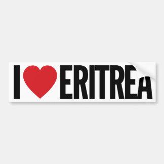 "I Love Heart Eritrea 11"" 28cm Vinyl Decal Bumper Sticker"