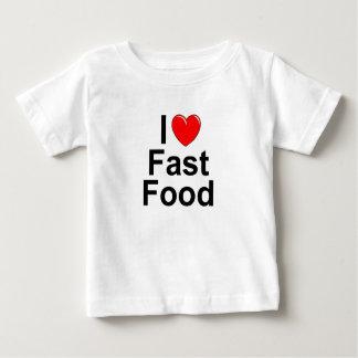 I Love (Heart) Fast Food Baby T-Shirt