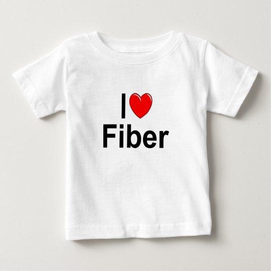 I Love (Heart) Fiber Baby T-Shirt