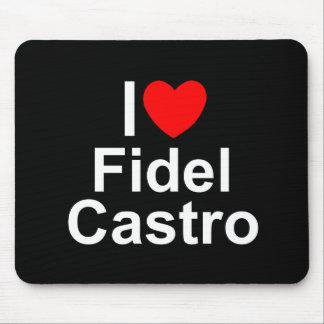 I Love (Heart) Fidel Castro Mouse Pad