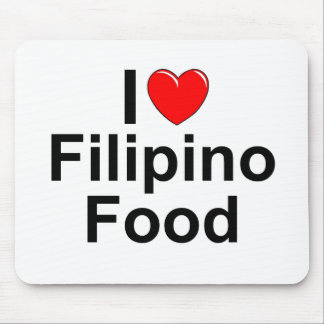 I Love ( Heart) Filipino Food Mouse Pad