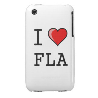 I Love (Heart) Florida iPhone 3 Case-Mate Cases