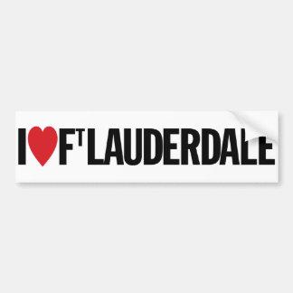 "I Love Heart Fort Lauderdale 11"" 28cm Vinyl Decal Car Bumper Sticker"