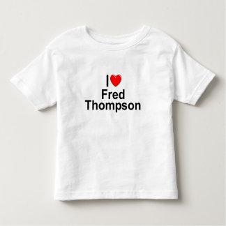I Love (Heart) Fred Thompson Shirts