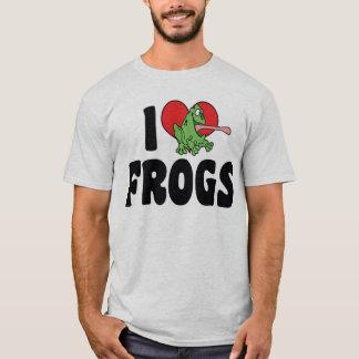 I Love Heart Frogs T-Shirt