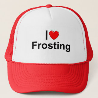 I Love (Heart) Frosting Trucker Hat
