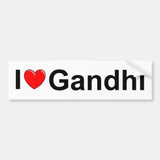 I Love (Heart) Gandhi Bumper Sticker