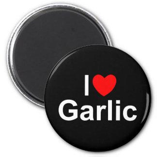 I Love (Heart) Garlic Fridge Magnet