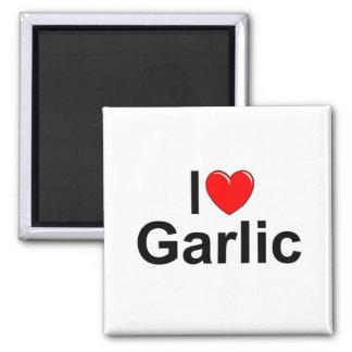 I Love (Heart) Garlic Refrigerator Magnet