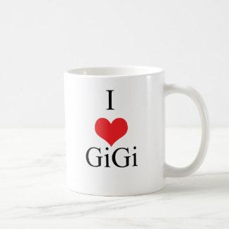 I Love (Heart) GiGi Classic White Coffee Mug