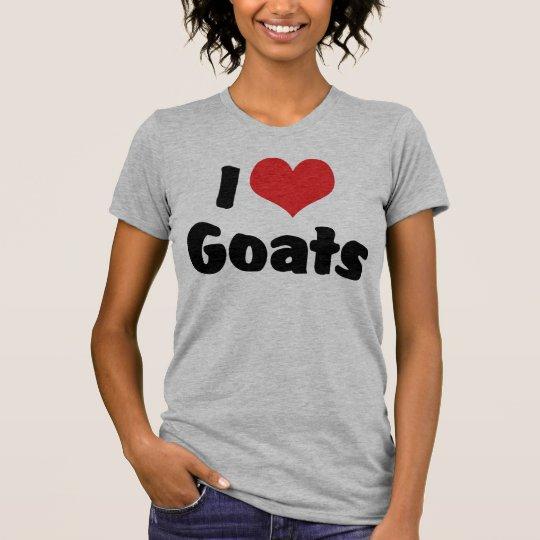 I Love Heart Goats - Goat Lover T-Shirt